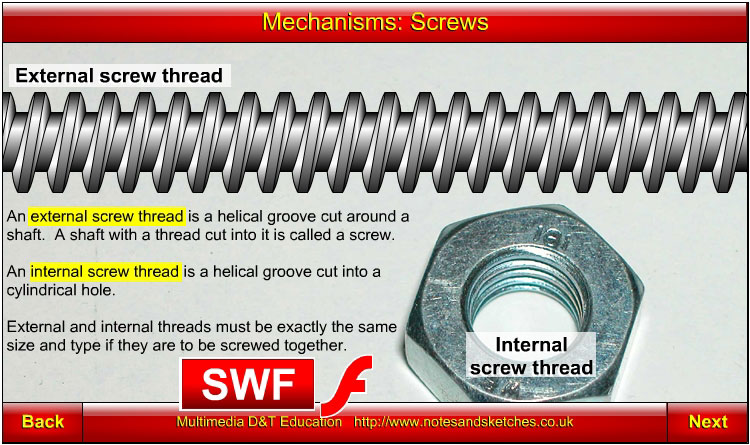 Mechanisms: Screws